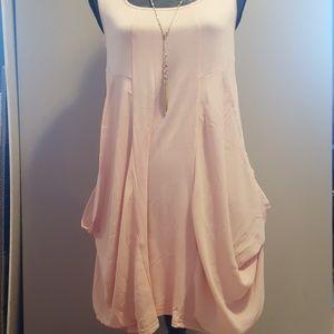 NWT Patrizia Luca|Tank Dress|Blush|Sz S
